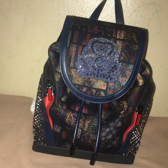 60a954b3786 Christian Louboutin Red Bottom Backpack